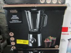 8x Glass High Powered Blender | Unchecked & Boxed | RRP £35 | Total Lot RRP £280 | Load Ref