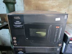 5X 700W Digital Flatbed Microwaves | Unchecked & Boxed | RRP £60 | Total lot RRP £300 | Load Ref