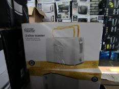 5x 2 Slice Toasters | | Unchecked & Boxed | RRP £11 | Total lot RRP £55 | Load Ref 23003080|