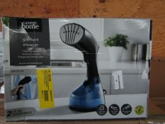 3x Garment Steamer | Unchecked & Boxed | RRP £20 | Total lot RRP £60 | Load Ref 23003080|