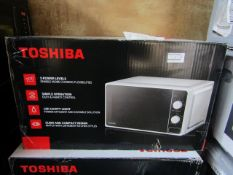 4x Toshiba Microwaves - Model May Vary | Unchecked & Boxed | RRP £75 | Total lot RRP £300 | Load Ref