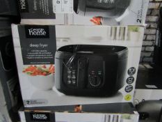 5x Deep Fryer | Unchecked & Boxed | RRP £19 | Total lot RRP £95 | Load Ref 23003080|