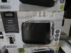 5x 2 Slice Toasters | Colours May Vary | Unchecked & Boxed | RRP £11 | Total lot RRP £55 | Load