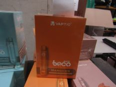 10pcs brand new sealed stock Vape Bars - - rrp £5.99 , 10pcs in lot flavour is : Mango Ice , ,Strong