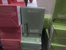 10pcs brand new sealed stock Vape Bars - - rrp £5.99 , 10pcs in lot flavour is : Green Grape , ,