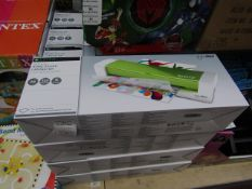 7x leitz home office laminator - a4 - 125 microns - unchecked & boxed.
