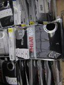 1x 32' heat - long sleeve crew neck & legging set - 7/8 - new & packaged