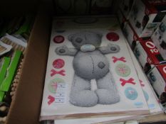 5 Packs of 30 Tatty Teddy Room Stickers, Me to You - New & Packaged.