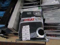 1x 32' heat - long sleeve crew neck & legging set - 12 - new & packaged