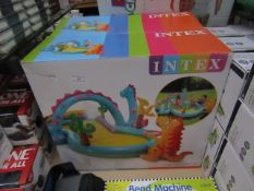 2x Intex - Inflatable Dinoland Play Centre - unchecked & boxed - RRP £40 - total lot RRP £80