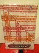 Driftwood Superking Duvet Cover 260 X 220 CM Inc. 2 X Housewife Pillowcases 50 X 75 Cm New &