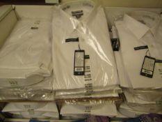 "30 X Kirkland Signature Mens Long Sleeve Shirts Various Sizes from 15"" Collar To 17 "" RRP"