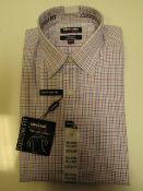 1x Kirkland Signature Custom Fit Long Sleeve Shirt - New - Size 15.5 Collar x 32/33 New