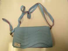 3 X Blue Clutch Bags With Hand Strap & Shoulder Strap New & Packaged