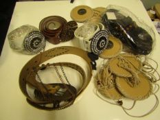 20 x Ladies Belts - All picked at random so designs will vary