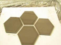10x Packs of 5 150x173 Savoy Caraway Gloss Hexagon SAV02A, AAH150SAV04A050, brand new. RRP £50 a