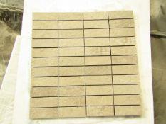 10x Boxes of 5 300x300 Ceramica Portinari District HDSoft Grey Mosaic, brand new. RRP £25 a box,