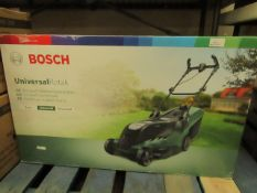 Bosch - Rotak Universal 650 Corded Rotary Lawnmower - Item Untested, Used Condition & Boxed. RRP £