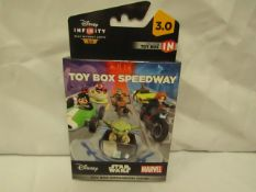 6x Disney - Infinity Toy Box Expansion Game - All Unused & Boxed.