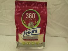 360 Care - Felight Super Absorbent Clean Clumping Plant-Based Cat Litter - 4L Pack - Unused &