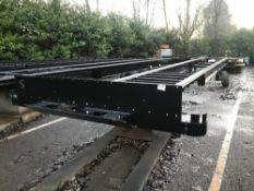 13.6M Straight Frame tandem Axle van chassis