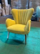 Mustard 'Buenos Aires' armchair