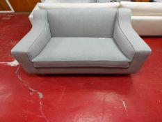 Light grey single sofa/armchair