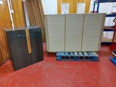 Bespoke marble top bar & credenza unit
