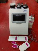 Unoisetion laser lipo/ultrasonic body cavitation machine