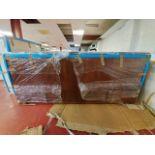 Dark wood 2500mm x 1100mm x 470mm side board