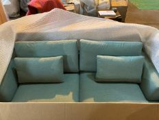 Light green 'Brasilia' 2.5 seater sofa