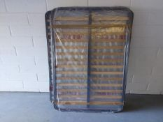 (6) Single bed frame mounted slats various sizes