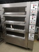 Tom Chandley Four Deck Twelve Tray 50 MK4 MT426 Compacta Oven