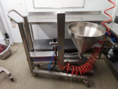 Unifiller Universal 1000 Pneumatic Food Depositor & Filling Machine