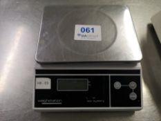 Weighstation F177 3kg Electronic Platform Scale