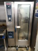 Rational Self Cooking Center White Efficiency SCCWE201 20 Grid Combi Oven