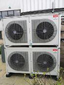 (2) Danfoss Optyma Plus OP-LOM168LLP02E Twin Fan Condensing Units