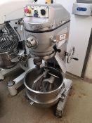 ChefQuip 60HI-F 60 Litre Planetary Mixer