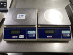 (2) Weighstation F177 3kg Electronic Platform Scales