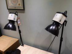(2) BIP Light Control Photography Studio Lighting Fluorescent Light Holders