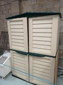 Plastic Garden Storage Container