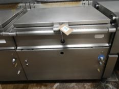 Stainless Steel 80Ltr Natural Gas Bratt Pan