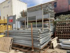 Large Quanitiy of Heras Fencing Components c/w Stillages