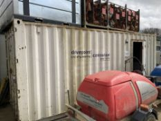 20' Steel Office/Store Container