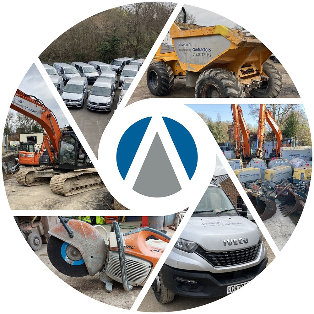Online Auction Sale of the Groundworks Plant, Equipment & Vehicles of Drivepoint Contractors Ltd In Administration