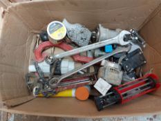 Contents of Box to include Small Tools and Parts