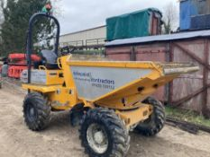 2017 Thwaites 3T 4x4 Power Swivel Dumper