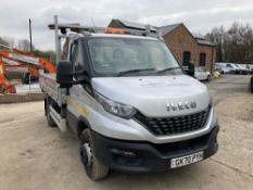 2020 Iveco Daily 72C18H Auto Dropside Tipper