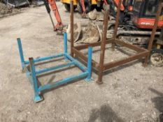 (2) Various Sized Open Stillages