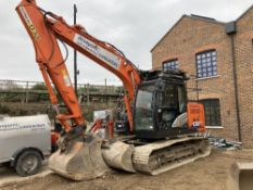 2018 Hitachi ZX130LCN-6 Hydraulic Excavator